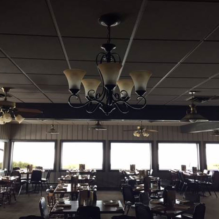 The new dining room at Sullivan's Supper Club in Trempealeau, WI
